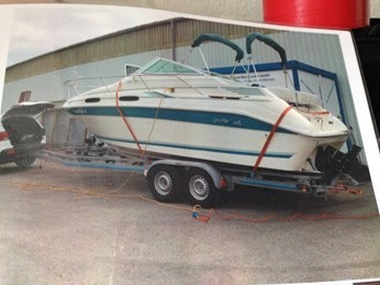 Sea Ray Typ 240 DA Baujahr 1995