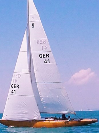 6mR-Yacht GER 41