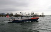 Polizeiboot der Seepolizei Hard